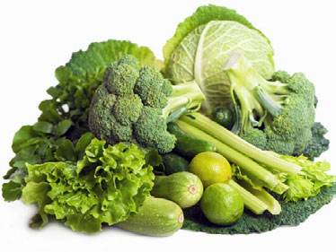 Green vegetables - nutrition to support mercury detox