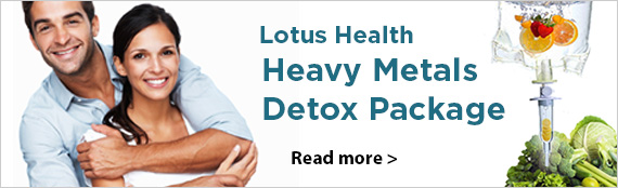 Heavy metals detox program banner